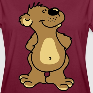 Happy bear! Forklæder - Dame oversize T-shirt