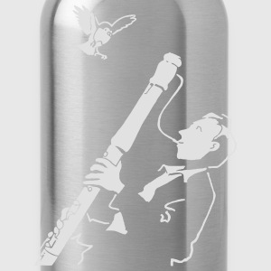 Black Sax Jazz Bags  - Water Bottle