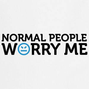 Normal People Worry Me 2 (dd)++ Pullover - Grembiule da cucina