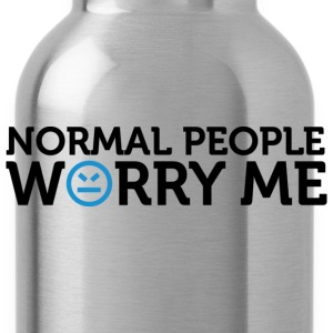 Normal People Worry Me 2 (dd)++ Gensere - Drikkeflaske