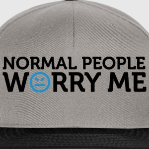 Normal People Worry Me 2 (dd)++ Sudadera - Gorra Snapback
