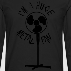 Huge metal fan - Men's Premium Longsleeve Shirt
