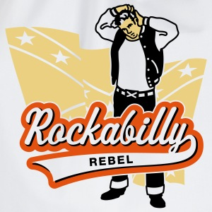 Rockabilly Rebel, T-Shirt - Turnbeutel