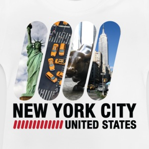 New York City (dd)++ Børne T-shirts - Baby T-shirt