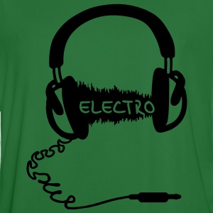 Headphones Casque audio Wave Motif: Electro Musique électronique  Sweatshirts - Maillot de football Homme