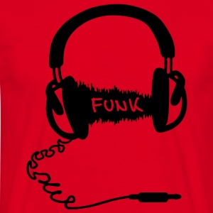 Hodetelefoner Audio Wave Design: Funk  Gensere - T-skjorte for menn