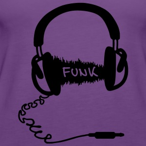 Hodetelefoner Audio Wave Design: Funk  Gensere - Premium singlet for kvinner