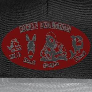 poker_evolution T-shirts - Casquette snapback