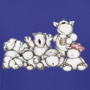 A bunch of hippos Kids' Tops - Men's Premium T-Shirt