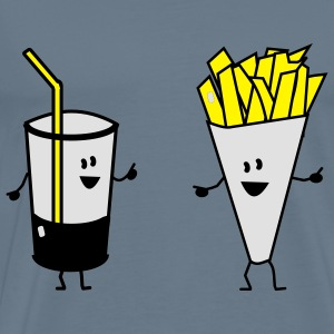 french fries drink Baby Body - Männer Premium T-Shirt