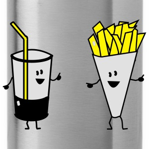 french fries drink Accessoires - Drinkfles