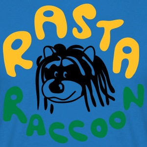Rasta Raccoon  Aprons - Men's T-Shirt