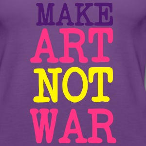 Maker Art not WAR Pullover - Frauen Premium Tank Top