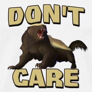 Honey Badger Don't Care Caps & Hats - Men's Premium T-Shirt