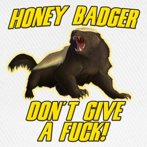 Honey Badger Don't Give A Fuck T-Shirts - Baseball Cap