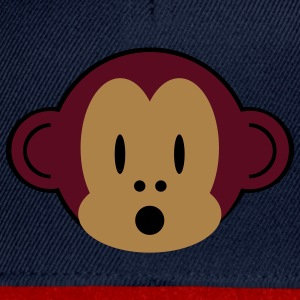 little monkey bib - Snapback Cap