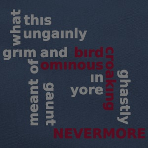 Typo Shirt - Poe: The Raven Pullover - Borsa retrò