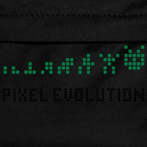 Svart Pixel Evolution T-skjorter - Ryggsekk for barn