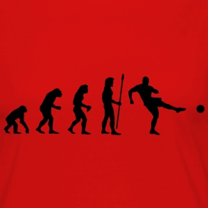 evolution_soccer1 T-Shirts - Women's Premium Longsleeve Shirt