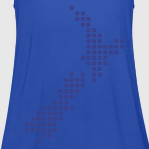 Peacock-blue New Zealand T-Shirts - Women's Tank Top by Bella