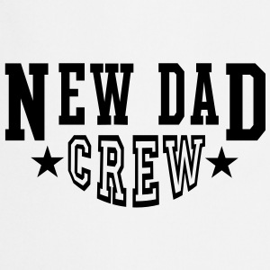 NDC New Dad Crew 2Star T-Shirt BW - Cooking Apron