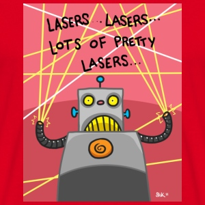 Pretty Lasers Bags  - Men's T-Shirt