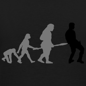 Human Evolution 4 (Vector) - Männer Premium T-Shirt
