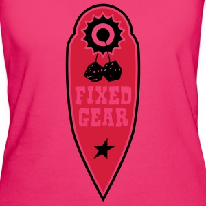 fixed gear - Frauen Bio-T-Shirt