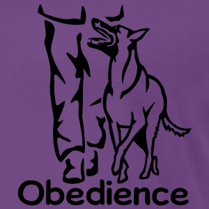 283 Obedience Malinois Pullover & Hoodies - Männer Premium T-Shirt