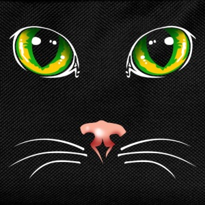 Black cat eyes - Kids' Backpack