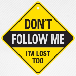 Dont Follow Me 1 (dd)++ T-skjorter - Baseballcap