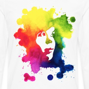 Ink Portrait Kids' Shirts - Men's Premium Longsleeve Shirt