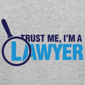 Trust Me Lawyer 2 (dd)++ Tröjor - Slim Fit T-shirt herr