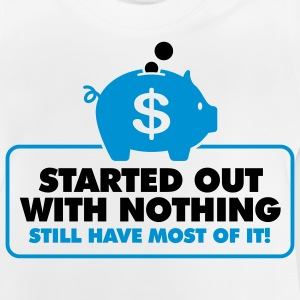 Started With Nothing 2 (2c)++ Børne T-shirts - Baby T-shirt