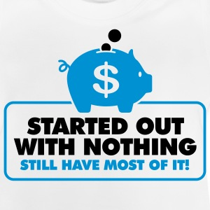 Started With Nothing 2 (2c)++ Kinder shirts - Baby T-shirt