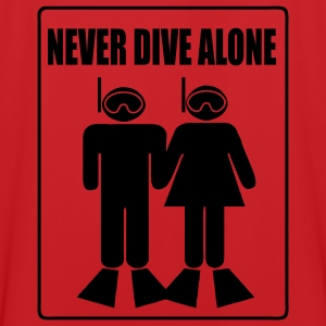 Never Dive Alone Bags  - Men's Football Jersey