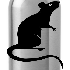 shirt rat rats duo ratty mouse mice animal - Water Bottle