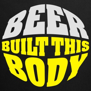 Beer built this body T-shirts - Keukenschort