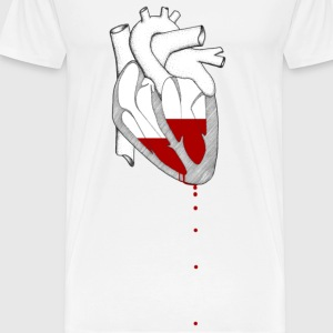Bleeding Heart Buttons - Men's Premium T-Shirt