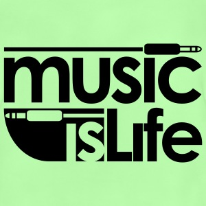 Music is life Sac Plage - T-shirt Bébé