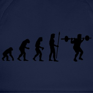 evolution_bodybuilding1 T-Shirts - Baseball Cap