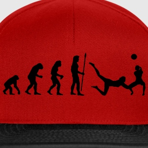 evolution_volleyball1 T-Shirts - Snapback Cap