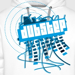 DUBSTEP T-Shirts - Sweat-shirt à capuche Premium pour hommes