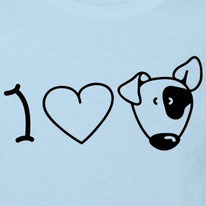 I love dogs Baby Body - Kinder Bio-T-Shirt