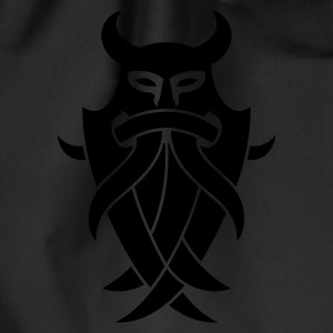 Odin's Mask Tribal Pullover - Turnbeutel