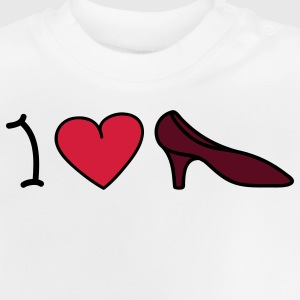 I love shoes Barneskjorter - Baby-T-skjorte