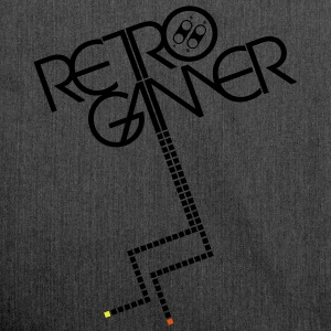 Retrogamer Pullover - Schultertasche aus Recycling-Material