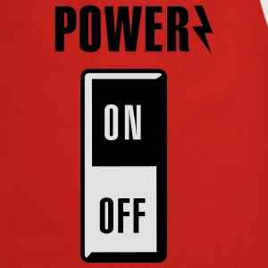 Power on/off Kinder shirts - Keukenschort