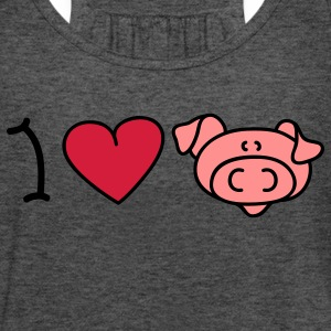 I love pigs Sweaters - Vrouwen tank top van Bella