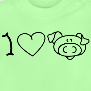I love pigs Kinder Pullover - Baby T-Shirt